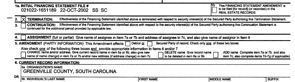 State Documents I Acquired Show One South Carolina City