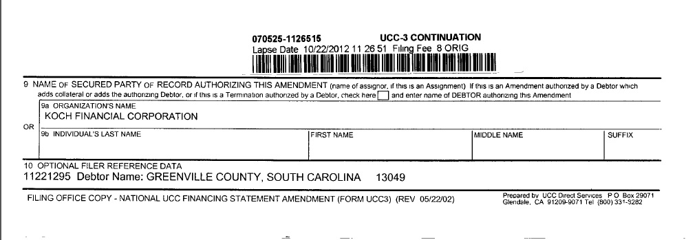 State Documents I acquired Show One South Carolina City has ...