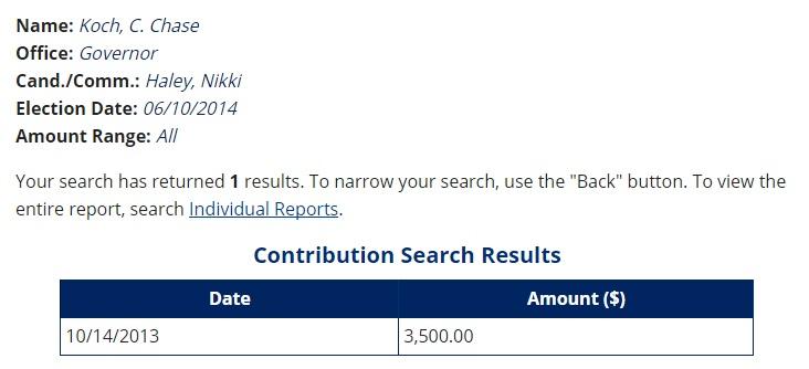 nikki haley koch public sector donations 3