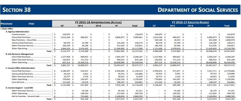 2016-17 dpt social service budget 1