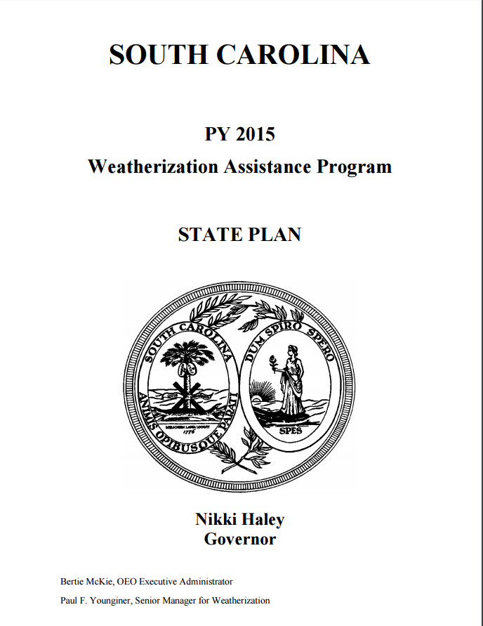 nikki haley weatherization program