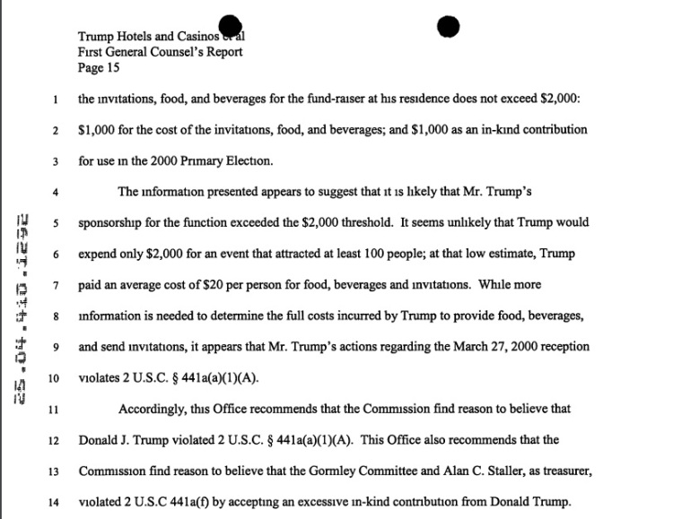 Trump FEC violation2